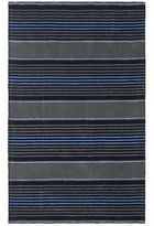 Martha Stewart Harmony Stripe Wrought Iron Wool Rug (4' X 6')