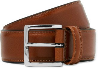 Andersons Tan 3.5cm Leather Belt