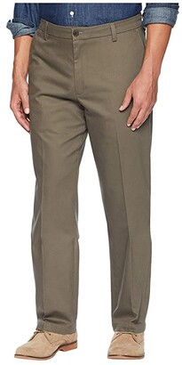 Dockers Classic Fit Signature Khaki Lux Cotton Stretch Pants D3 (Timber Wolf) Men's Casual Pants