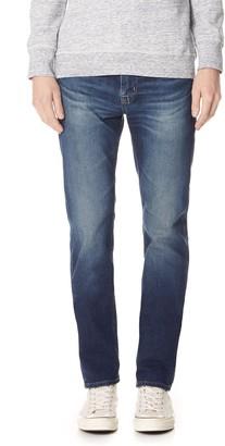 AG Jeans Men's Matchbox Slim Straight Leg Led Denim