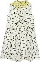Roksanda Ilincic Floral silk A line dress