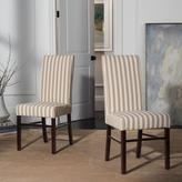 Safavieh Cream and Tan Dining Chair (Set of 2)