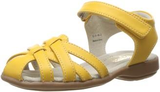 See Kai Run Girl's Camila Yellow Sandal 4 M US Toddler