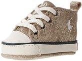 Ralph Lauren Sag Harbour High Crib Shoe (Infant/Toddler)