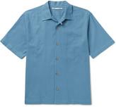 Stella McCartney Camp-Collar Cotton-Piqué Shirt