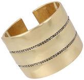 Kenneth Cole New York Pave Hinged Bangle Bracelet