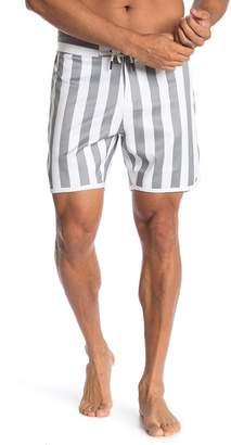 Trunks Goodlife Striped Scallop Swim