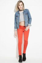 Forever 21 The Sunset Mid Rise Color Jean