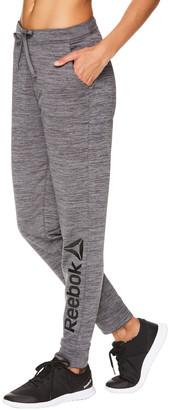 Reebok Women's Sweatpants MEDIUM - 30'' Medium Gray Heather Fierce Signature Joggers - Women