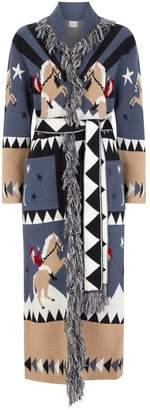 Hayley Menzies Sunrise Rodeo Long Wool Cardigan