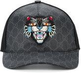 Gucci GG Supreme Angry Cat baseball cap - men - Cotton/Polyester/Polyurethane - M