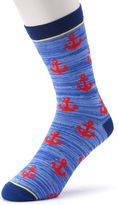 Men's Patterned Crew Socks