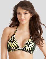 figleaves swimwear Belize Halter Triangle Bikini Top