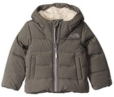 The North Face Kids Moondoggy Down Jacket (Toddler) (TNF Medium Grey Heather) Kid's Coat
