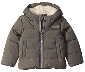 The North Face Kids Moondoggy Down Jacket (Toddler) (TNF Medium Grey Heather) Kid's Coat