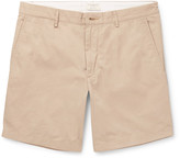 Club Monaco Baxter Cotton-Twill Shorts
