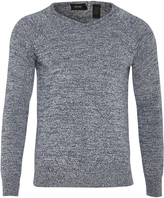 Oxford Zeke V-Neck Knit Blue X