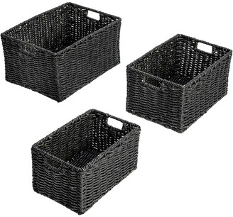 Honey-Can-Do 3Pc Maize Baskets