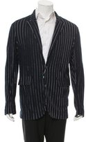 Adam Kimmel Pinstripe Two-Button Blazer w/ Tags