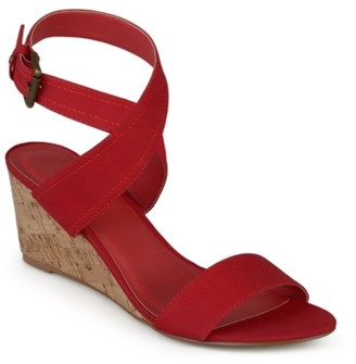 Journee Collection Kaylee Wedge Sandal