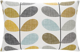 Orla Kiely Scribble Stem Pillowcase - Seagrass - Set of 2