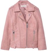 Girls Faux Leather Jacket - ShopStyle Australia
