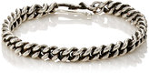 Dean Harris Men's Double-Curb-Chain Bracelet