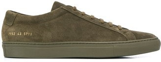 Common Projects lace-up suede sneakers