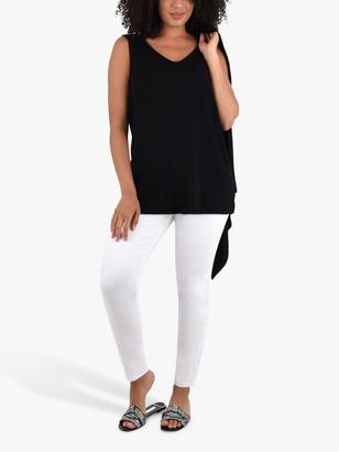 Live Unlimited Black Jersey Vest, Black