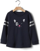 Gap Sparkle animal sweatshirt tunic