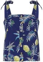 Yumi Pineapple Print Top