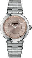 Salvatore Ferragamo Women's Swiss Symphonie Stainless Steel Bracelet Watch 36mm FIN040015