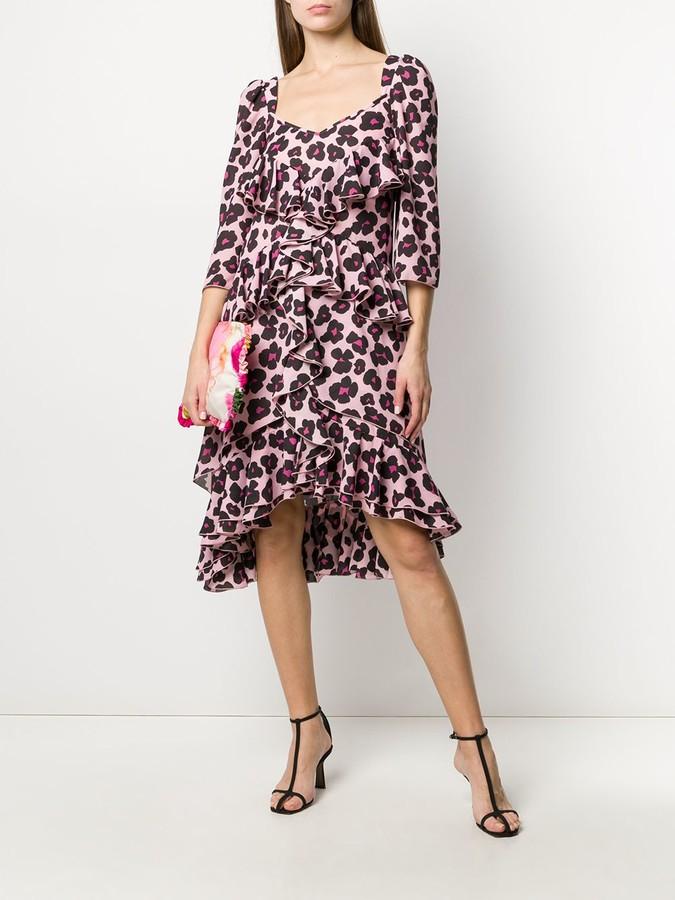 Thumbnail for your product : La DoubleJ Sissi leopard print dress