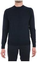 Trussardi Men's Blue Acrylic Sweater.