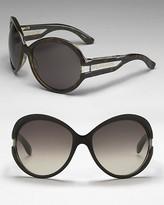 Women's Oversized Plastic Sunglasses