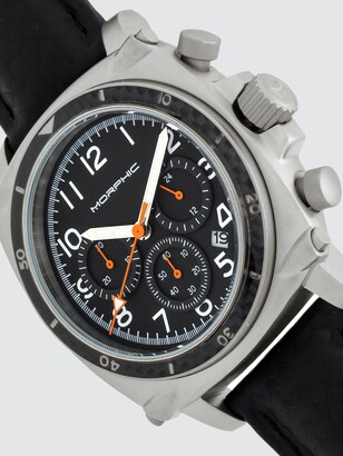 Morphic M83 Series 44mm Leather Watch