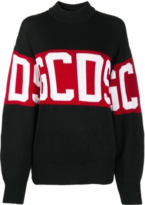 GCDS Logo Knit Jumper