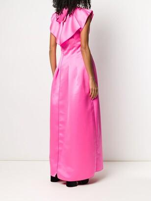 Maison Rabih Kayrouz V-neck long gown
