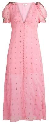 LoveShackFancy Delaney Midi Dress