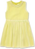 Marie Chantal Marie-Chantal Citrus Piped Silk Dress