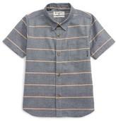 Billabong Toddler Boy's Bllabong Flat Lines Woven Shirt