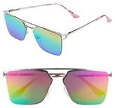 Sam Edelman Women's 56Mm Flat Top Sunglasses - Pink