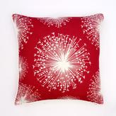 Seed in Scarlet Linen Pillow
