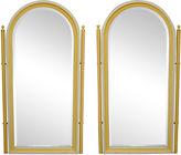 One Kings Lane Vintage Palm Beach-Style Mirrors, Pair