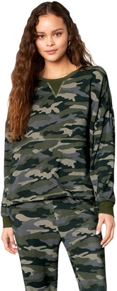 BB Dakota Nothin' To See Here Camo Sweatshirt
