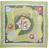 Hermes Swing Silk Scarf
