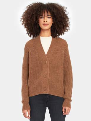 360 Cashmere 360cashmere Averie V-Neck Rib Knit Sweater