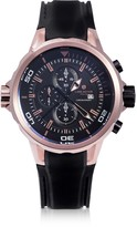 Lancaster Space Shuttle Rose Gold PVD Stainless Steel Chronograph Watch