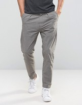 Selected Pant in Tapered Fit with Stretch