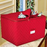 Quilted Ornament Storage Box
